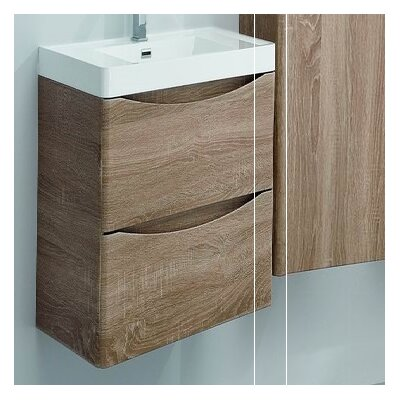 Blondene Modern 24 Single-Hole Bathroom Vanity Set