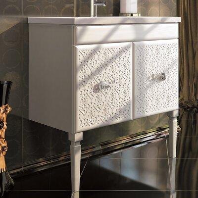 Venice 32 Single Bathroom Vanity Set Base Finish: White