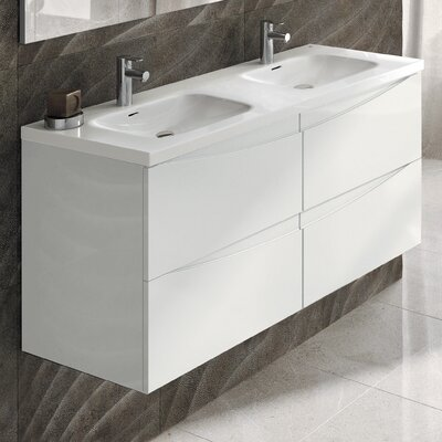 Rome 48 Double Bathroom Vanity Set