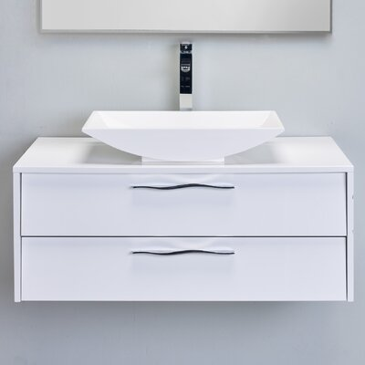 Zenvi� 39 Single Bathroom Vanity Set Base Finish: White