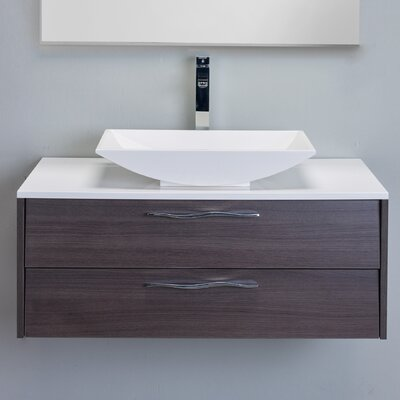 Zenvi� 39 Single Bathroom Vanity Set Base Finish: Gray Oak