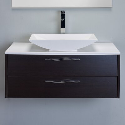 Zenvi� 39 Single Bathroom Vanity Set Base Finish: Wenge