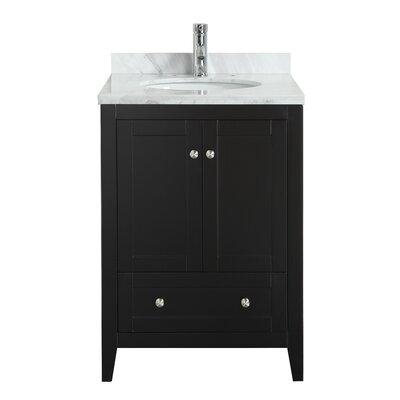 Lime� 24 Single Bathroom Vanity Set Base Finish: Espresso