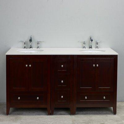 Lime 60 Double Bathroom Vanity Set