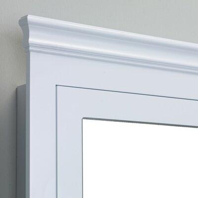 Piccirillo 24.5 x 34.5 Surface Mount Medicine Cabinet Finish: White