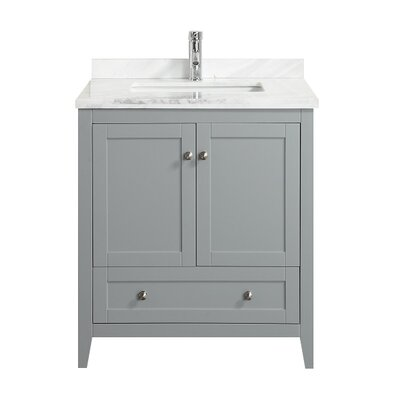 Lime� 30 Single Bathroom Vanity Set Base Finish: Chilled Gray