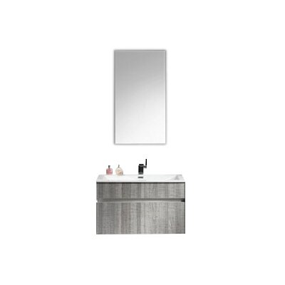 Ashy 24 Single Bathroom Vanity Set