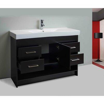 Nimesh Modern 48 Single Bathroom Vanity Set