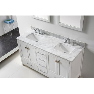 Aberdeen 60 Double Bathroom Vanity Set