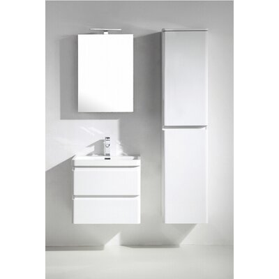 Glazzy 24 Single Bathroom Vanity Set