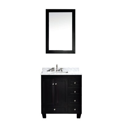 Lauder 31 Single Bathroom Vanity Set Base Finish: Espresso