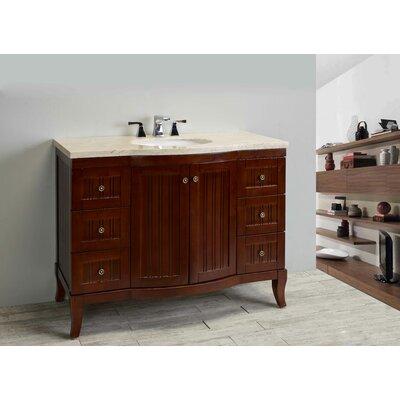 Odessa Zinc 48 Single Bathroom Vanity Set