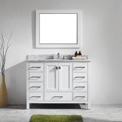 Aberdeen 48 Single Bathroom Vanity Set