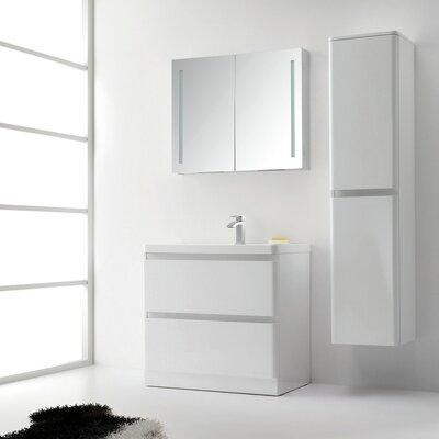 Glazzy 36 Single Bathroom Vanity Set
