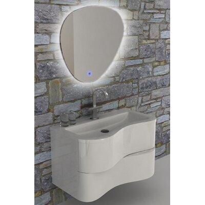 Grisby 36 Single Bathroom Vanity Set Base Finish: White