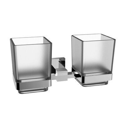 Twin Toothbrush Holder Finish: Brushed Nickel REBR1867 38717626