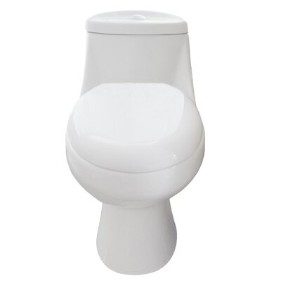 Sleek 1.28 GPF Elongated One-Piece Toilet
