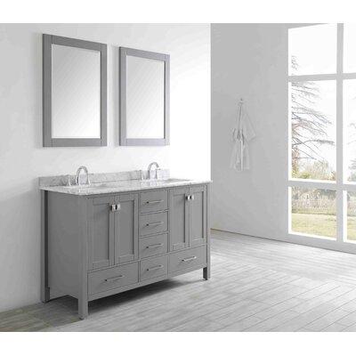 Pichardo 60 Double Bathroom Vanity Set
