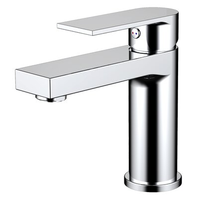 Pure Single Hole Single Handle Bathroom Faucet with Drain Assembly