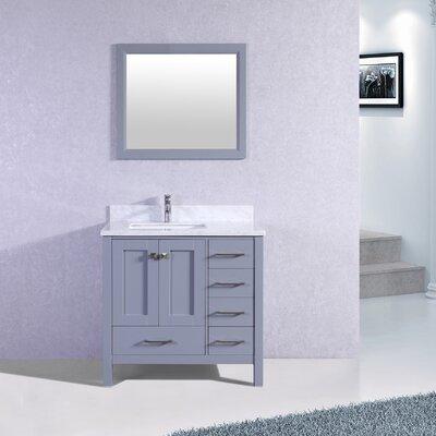 Arnab Transitional 36 Single Bathroom Vanity Set Base Finish: Gray