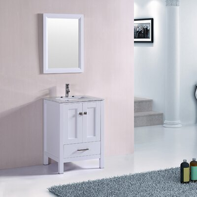 Arnab Modern Transitional 24 Single Bathroom Vanity Set