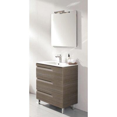 Oberlin 43 Single Bathroom Vanity Set Base Finish: Ash