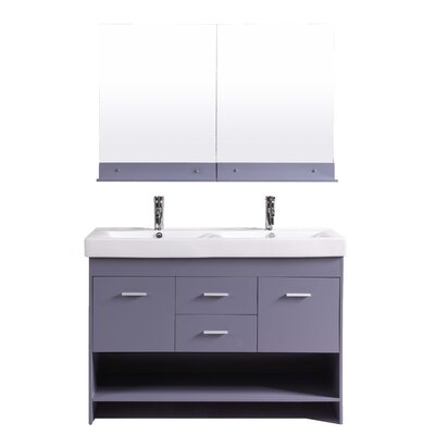 Nimesh 48 Single Bathroom Vanity Set