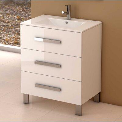 Libra� 31.5 Single Bathroom Vanity Set Base Finish: White
