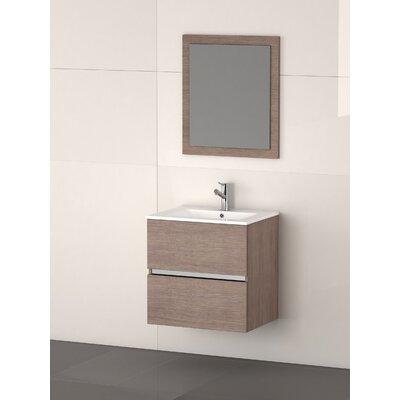 Ikaro� 24 Single Bathroom Vanity Set Base Finish: Medium Oak