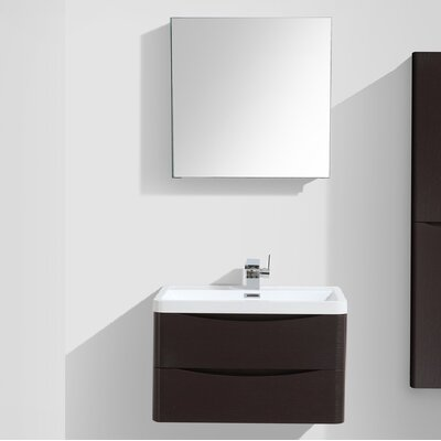 Blondene 30 Single Bathroom Vanity Set Base Finish: Chest-nut