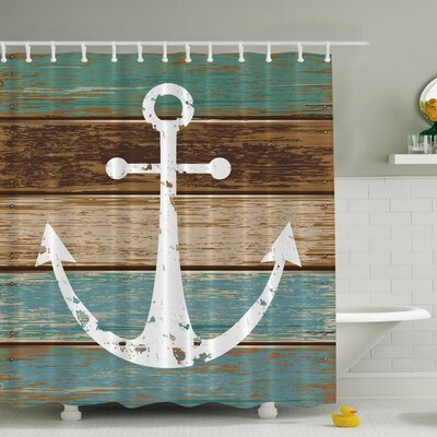 Patria Print Shower Curtain