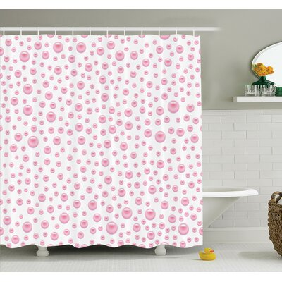 Baby Bridal Shower Curtain Set Size: 84 H x 69 W