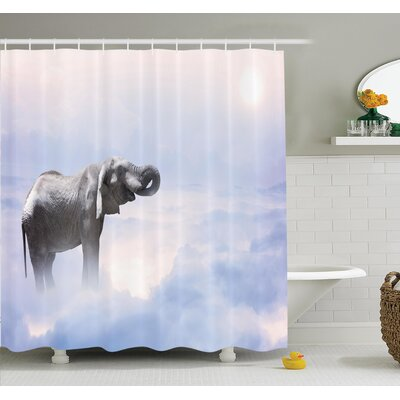 Heaven Animal Freedom Shower Curtain Set Size: 84 H x 69 W