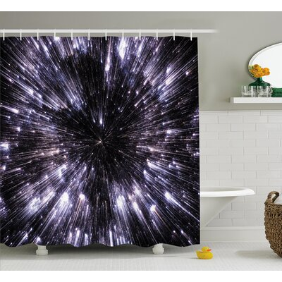 Guillermo Speed of Life Space Travel Fantastic Galaxy War Universe Science Fiction Futuristic Shower Curtain Size: 69