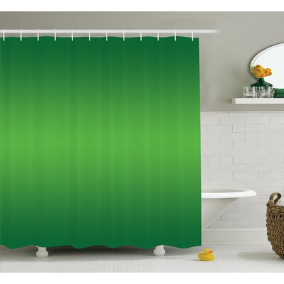 Inspired Tropic Sea Nature Decor Print Shower Curtain Size: 69