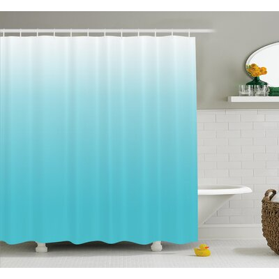 Maddox Maldive Ocean Art Shower Curtain Size: 69 W x 70 L