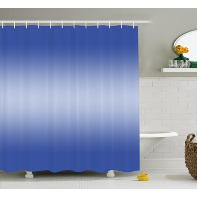 Inspired Sunset Evening Scene Shower Curtain Size: 69 W x 84 L