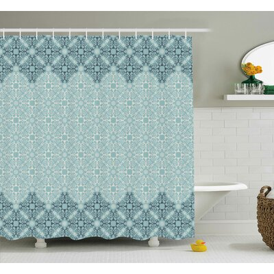 Sylvania Ethnic Indian Style Shower Curtain Size: 69 W x 75 L