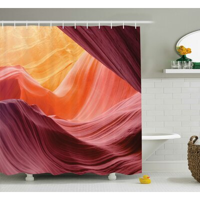 Emory Grand Canyon Scenery Shower Curtain Size: 69 W x 75 L