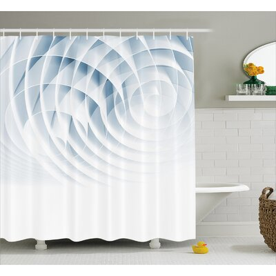 Ellison Futuristic Digital Shower Curtain Size: 69