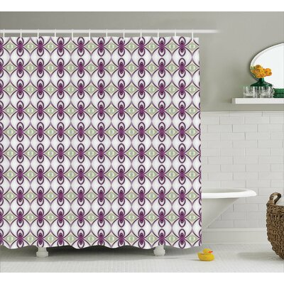 Prattsburgh Eastern Mosaic Quirky Shower Curtain Size: 69 W x 84 L