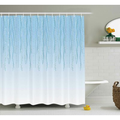 Holley Retro Old Celebration Shower Curtain Size: 69 W x 84 L