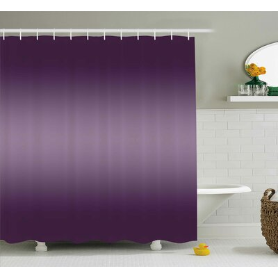 Inspired Modern Hollywood Decor Shower Curtain Size: 69 W x 75 L