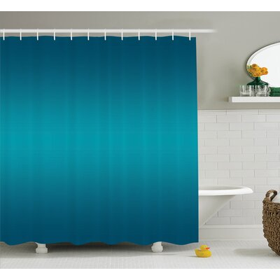Inspired Tropic Ocean Room Decor Shower Curtain Size: 69 W x 75 L
