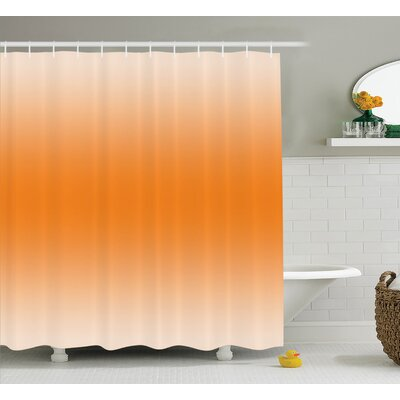 Inspired Sun Summer Girly Decor Shower Curtain Size: 69 W x 75 L