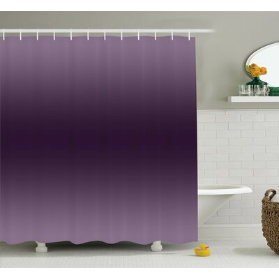 Beaird Hollywood Glam Theme Art Shower Curtain Size: 69 W x 75 L