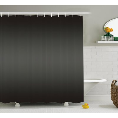 Beaird Fumes and Smokes Design Print Shower Curtain Size: 69 W x 84 L