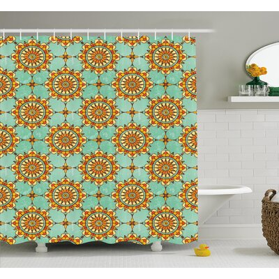 Darchelle Eastern Victorian Form Shower Curtain Size: 69 W x 70 L