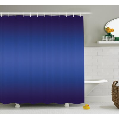 Beaird Night Sky Inspired Art Print Shower Curtain Size: 69 W x 70 L