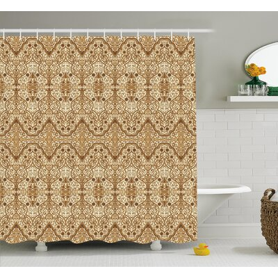 Puttney Middle Eastern Arabic Shower Curtain Size: 69 W x 84 L